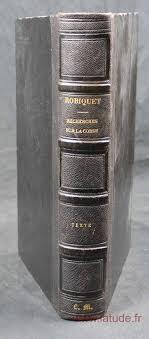 Paris Lauteur Rennes Duchesne 1835 Premiere Edition Ouvrage De Reference Pour La Connaissance Corse Au Debut Du XIXe Siecle Apres Une