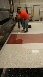 The Terrazzo Mechanic Will Thoroughly Clean Floor And Apply A Sealer This Completes