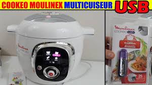 cuisine cookeo cookeo usb moulinex multicuiseur mijoteuse de cuisine