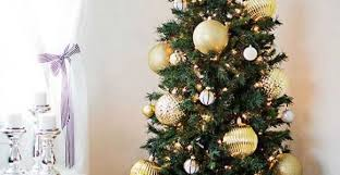 Gold Christmas Tree Pinterest Ideas Of Skinny