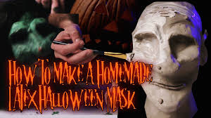 Scary Halloween Half Masks by How Bizarre