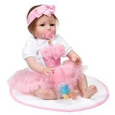 Other Baby 18inch Reborn Baby Girl Doll Handmade Lifeike Baby Girl
