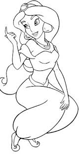 Fun Disney Jasmine Coloring Pages S Free On Art