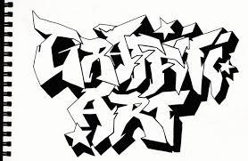 Drawn Artistic Graffito 1
