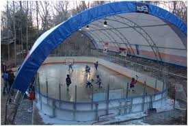 Backyards: Amazing Backyard Hockey Rink. Outdoor Roller Hockey ...