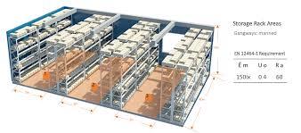 100 Ra Warehouse Project Lighting Lucky LED Technologies Deutschland GmbH