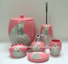 gallery marvelous cheap bathroom accessories sets 25 best pink
