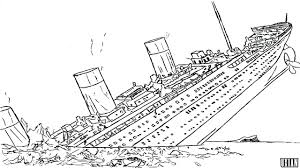 Beautiful Titanic Coloring Pages Printable Photos Podhelp Info