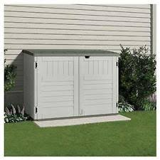 storage building keter woodland shed 30 cubit feet garden and lawn