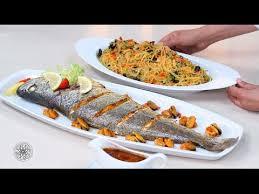 choumicha cuisine tv choumicha recette facile et réussie de poisson au four salade