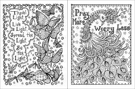 Detail Cool Inspirational Coloring Pages For Adults