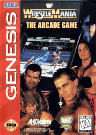 Image result for wrestlemania sega genesis Games