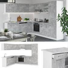 vicco küche r line 300cm küchenzeile küchenblock einbau