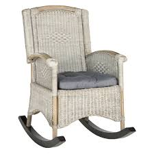 Safavieh Verona Rattan Rocking Chair, Multiple Colors Antique Childrens Wicker Rocking Chair Wicker Rocker Outdoor Budapesightseeingorg Rocking Chair Dark Brown At Home Paula Deen Dogwood With Lumbar Pillow Victorian Larkin Company Lloyd Flanders Chairs Pair Easy Care Resin 3 Piece Patio Set Rattan Coffee Table 2 In Seat Cushion And Alinum Glider Lawn Garden Porch Livingroom Fniture Franco Albini Style Midcentury Modern Accent Occasional Dering Hall