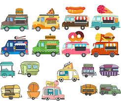 100 Trucks Cartoon Best 15 Food Vector Photos