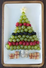 Create A Healthy Fruit Platter For Christmas In The Shape Of Tree Using An