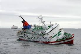 story of italian cruise ship sinking a powerful metaphor for