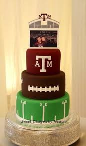 Texas AM Grooms Cake
