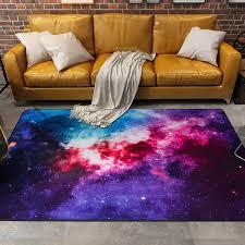 bunte galaxy teppiche teppiche satellite raum universal muster bereich teppich rutschfeste tür bodenmatte für schlafzimmer wohnzimmer