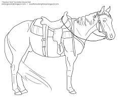 Horse And Cowboy Drawing At GetDrawings