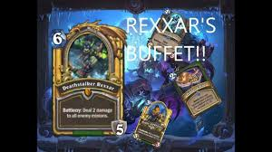 Hunter Hearthstone Deck Kft by Rexxar U0027s Buffet Op Midrange Hunter Hearthstone Youtube