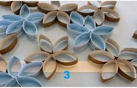 Simple Creative Wall Decoration Idea From Waste Paper