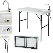 Fish Cleaning Station With Sink by Camping Sink Ebay