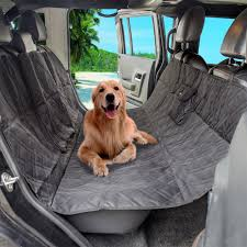 Anself Luxury Pet SUV Car Seat Cover Hammock Water Resistant Non ... Waterproof Dog Pet Car Seat Cover Nonslip Covers Universal Vehicle Folding Rear Non Slip Cushion Replacement Snoozer Bed 2018 Grey Front Washable The Best For Dogs And Pets In Recommend Ksbar Original Cars Woof Supplies Waterresistant Full Fit For Trucks Suv Plush Paws Products Regular Lifewit Single Layer Lifewitstore Shop Protector Cartrucksuv By Petmaker Free Doggieworld Xl Suvs Luxury