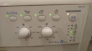 lave linge machine à laver indesit iwc5125 commentreparer