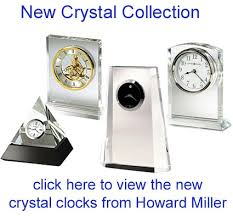 movado iconic crystal desk clock mcl000217m the clock depot