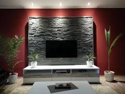 bilder wohnzimmer gestalten natursteinwand wohnzimmer