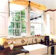 Fanciful Modern Kitchen Curtains Home Designs Bay Ideas Favorable For Window