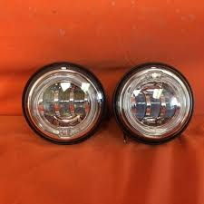 4 5 auxiliary daymaker chrome spot with halo passing hid led