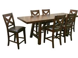 Porter International Designs Montreal Seven Piece Pub Table And Stool Set