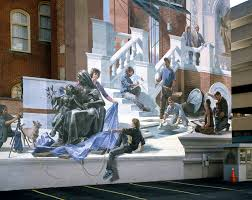 Philly Mural Arts Tour by Meta Muralist Blends Architecture With Public Art Hidden City
