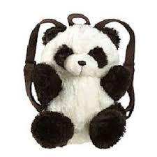 Pillow Pet My Pillow Pets Panda Backpack Polyvore