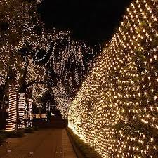 LED Mesh Fairy String Lights Twinkle Lighting With US Plug For Wedding Christmas Xmas Thanksgiving Party Events Home Roof Decor Tree Wrap Warm White