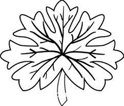Leaves black and white oak leaf black and white clipart 2