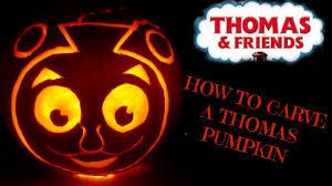 Corpse Bride Pumpkin Stencil by Pumpkin Carving Tutorial Thomas The Tank Train Youtube