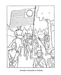 American Revolutionary War Coloring Pages
