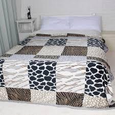 hiver épais grande taille flanelle lit couvertures plaid fuzzy
