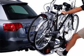 porte vélo sur boule d attelage pour 2 vélo