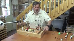 Portable Fly Tying Bench Plans by Oasis Benches Compact Bench Youtube