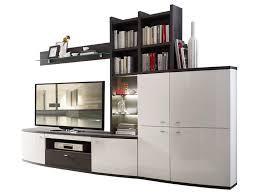 wohn concept bregenz 4 teilige wohnkombination 40 64 wo 82 für ihr wohnzimmer mit tv unterteil stauraumelement aufsatzregal und wandboard wohnwand