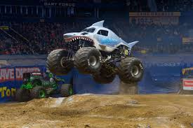 Monster Jam Roars Back Into Civic Center With Super Shark Megalodon ... Monster Trucks Motocross Jumpers Headed To 2017 York Fair Jam Returning Arena With 40 Truckloads Of Dirt Anaheim Review Macaroni Kid Truck Rentals For Rent Display At Angel Stadium Announces Driver Changes For 2013 Season Trend News Tickets Buy Or Sell 2018 Viago 31st Annual Summer 4wheel Jamboree Welcomes Ram Brand Baltimore 2016 Grave Digger Wheelie Youtube Jams Royal Farms Arena Postexaminer Xxx State Destruction Freestyle 022512 Atlanta 24 February
