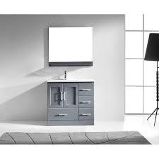 modern bathroom vanities wayfair zola 36 single vanity set with