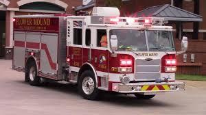 Flower Mound Fire Dept Engine 501 Truck Responding