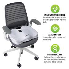 Aylio Coccyx Orthopedic Comfort Foam Seat Cushion For Lower Back, Tailbone  And Sciatica Pain Relief (Gray) Aylio Coccyx Orthopedic Comfort Foam Seat Cushion For Lower Back Tailbone And Sciatica Pain Relief Gray Pin On Pain Si Joint Sroiliac Joint Dysfunction Causes Instability Reinecke Chiropractic Chiropractor In Sioux The Complete Office Workers Guide To Ergonomic Fniture Best Chairs 2019 Buyers Ultimate Reviews Si Belt Hip Brace Slim Comfortable