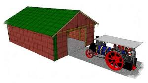 a pole shed is a great way to build a large shed economically and