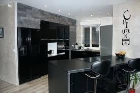 cuisine noir laqué pas cher cuisine laquee cuisine noir laquac ikea element cuisine noir